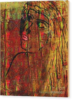 Forgotten Wood Print by Fania Simon