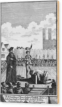 Foxes Book Of Martyrs Wood Print by Granger