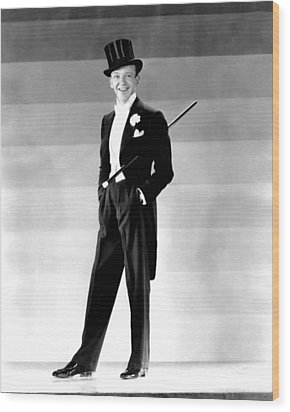 Fred Astaire, 1930s Wood Print by Everett