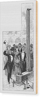 French Fair, 1889 Wood Print by Granger