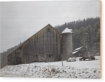Frozen In Time  Wood Print by John Stephens