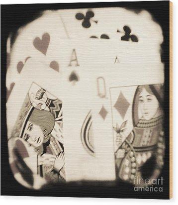 Gambit Wood Print by Andrew Paranavitana