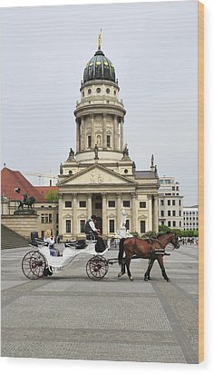 Gendarmenmarkt Berlin Germany Wood Print by Matthias Hauser