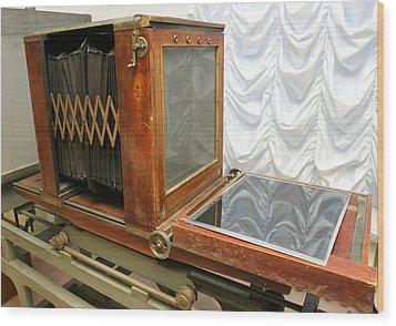 German Photograph Copier From 1930 Wood Print by Ria Novosti