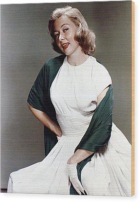 Gloria Grahame, Ca. 1950s Wood Print by Everett