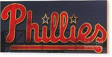 Go Phils Wood Print by Snapshot  Studio