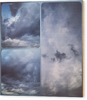 God Is The Ultimate Painter... #nature Wood Print by Kel Hill