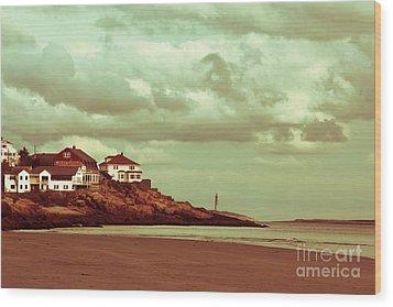 Good Harbor Beach Wood Print by Dana DiPasquale