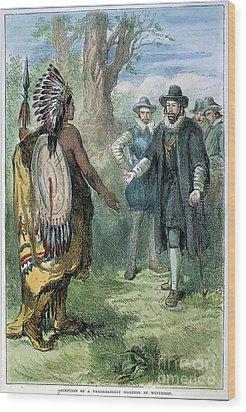 Governor John Winthrop Wood Print by Granger