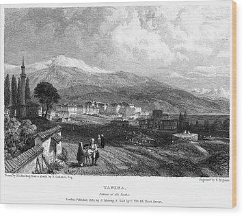 Greece: Yanina, 1833 Wood Print by Granger