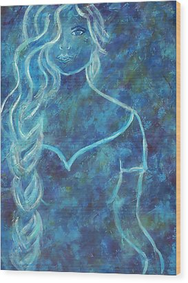 Guinevere Wood Print by The Art With A Heart By Charlotte Phillips