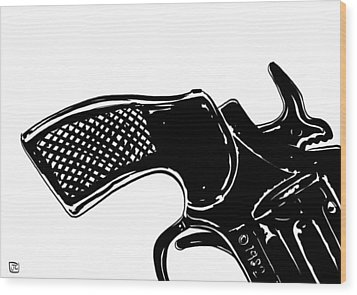Gun Number 2 Wood Print by Giuseppe Cristiano