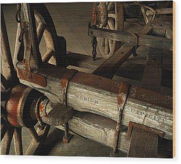 Heavy Hauler - Vintage Wagon Wood Print by Steven Milner