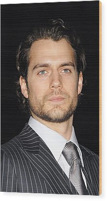 Henry Cavill At Arrivals For Vanity Wood Print by Everett