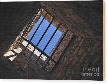 I Can See The Light Wood Print by Kaye Menner