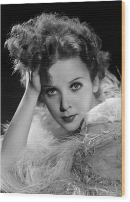 Ida Lupino, Paramount Pictures Photo Wood Print by Everett