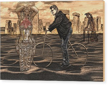 is it art  or can I clean it up Wood Print by Joachim G Pinkawa