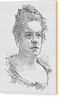 Isabel Florence Hapgood Wood Print by Granger