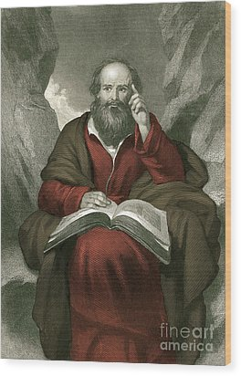 Isaiah, Old Testament Prophet Wood Print by Photo Researchers