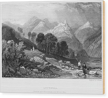 Italy: Licenza, 1833 Wood Print by Granger