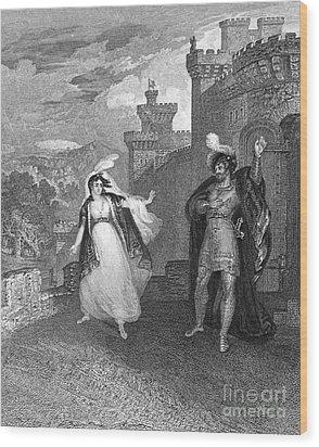 Ivanhoe, 1832 Wood Print by Granger