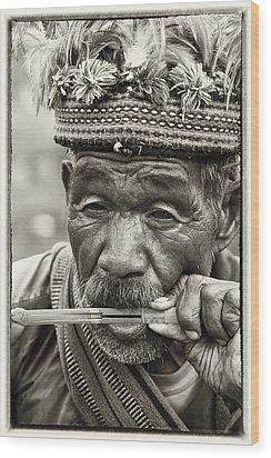 Jaw Harp Wood Print by Skip Nall