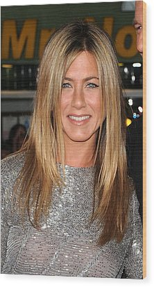 Jennifer Aniston At Arrivals For Love Wood Print by Everett