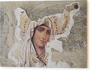 Jerusalem, Israel, Closeup Of Torn Wood Print by Richard Nowitz