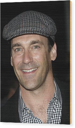 Jon Hamm At Arrivals For Get Him To The Wood Print by Everett