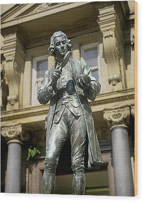 Joseph Priestley, British Chemist Wood Print by Martin Bond