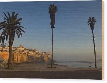 Kasbah Des Oudaias, Rabat Wood Print by Axiom Photographic