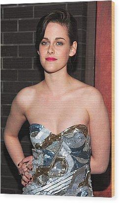 Kristen Stewart Wearing An Emilio Pucci Wood Print by Everett