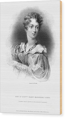 Lady Caroline Lamb Wood Print by Granger