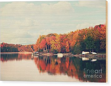 Lake Norman North Carolina Wood Print by Kim Fearheiley