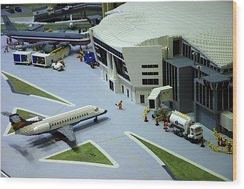 Legoland Dallas IIi Wood Print by Ricky Barnard