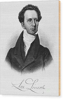 Levi Lincoln (1749-1820) Wood Print by Granger