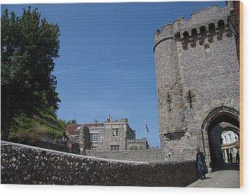 Lewes Castle Wood Print by Dawn OConnor