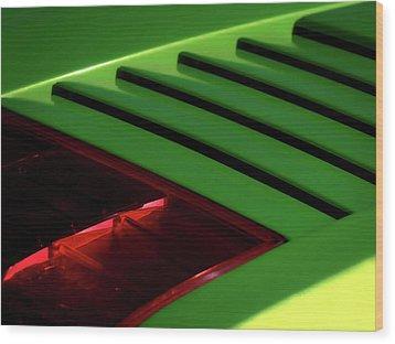 Lime Light Wood Print by Douglas Pittman