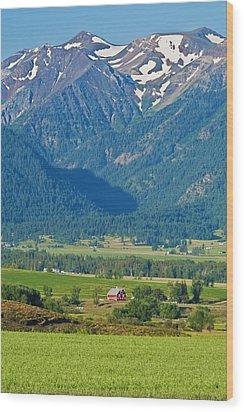 Little Switzerland  Wood Print by Alvin Kroon