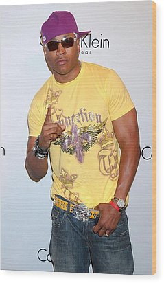Ll Cool J At Arrivals For The Calvin Wood Print by Everett