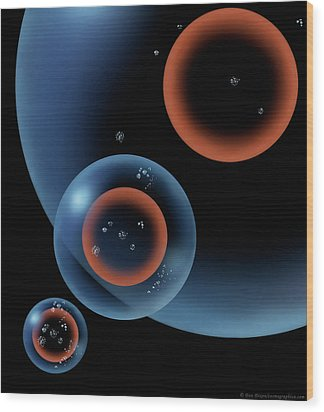 Lonely Universe Wood Print by Don Dixon