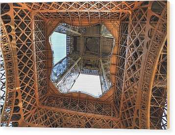 Looking Up Wood Print by Barry R Jones Jr