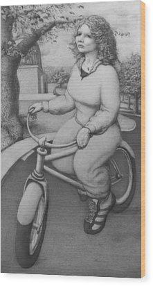 Lovely Little Plump Lady Wood Print by Louis Gleason