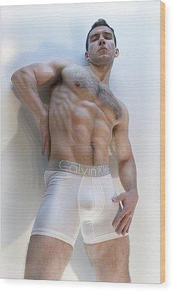 Masculinity Wood Print by John Clum