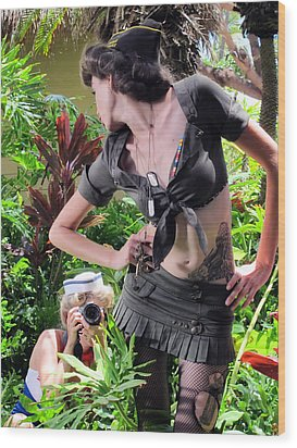 Maui Photo Festival 4 Wood Print by Dawn Eshelman
