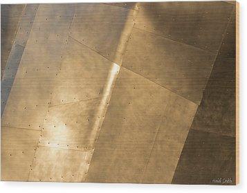Metal Wood Print by Heidi Smith