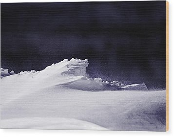 Midnight In January Wood Print by Susan Capuano