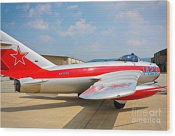 Mig-17f Fresco C 17qs Wood Print by John Waclo