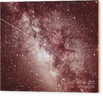 Milky Way In Sagittarius Wood Print by Science Source