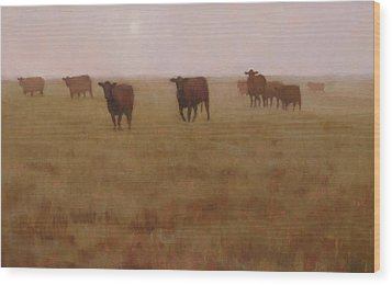 Missouri Morn Wood Print by Brian Freeman